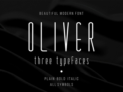 Oliver Beautiful Modern Font