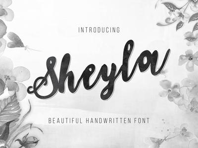 Sheyla - Beautiful Handwritten Font