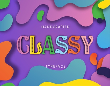 Classy - Handcrafted Vintage Typeface