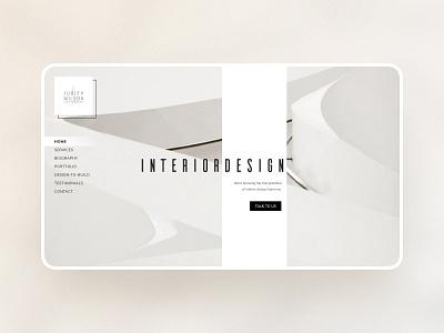 Architecture Website Design website webdesign architecture interior design uiux web web design website design ui ux simple beige cream figmadesign minimalistic minimal user inteface user experience figma
