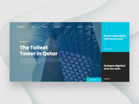 Architecture Website Design Concept