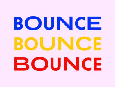 """Bounceback"" Identity Design"