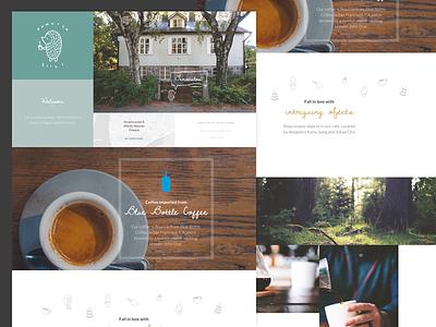 Kahvila Siili Marketing Website coffee modular marketing funsize website