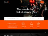 Ticketiq landing page
