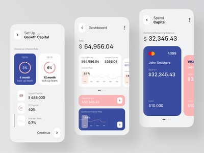 Banking Mobile App bank app minimal dashboad graphs graphic clean ios app app design ecommerce mobile app design mobile app banking app bank card banking
