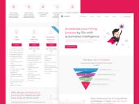 Integrated Job Board Homepage