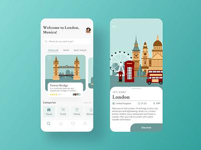 Mobile Travel App application ios12 ios13 app design appdesign ui ux adventure travel travel app android app ios app app clean