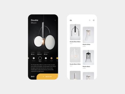 eCommerce Lamp App