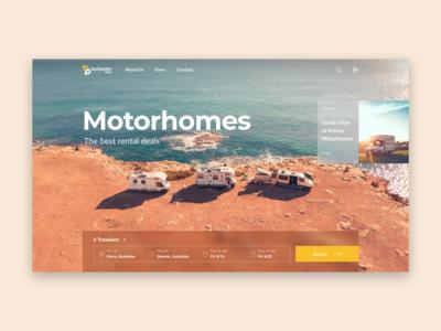 Motorhomes Trips Website