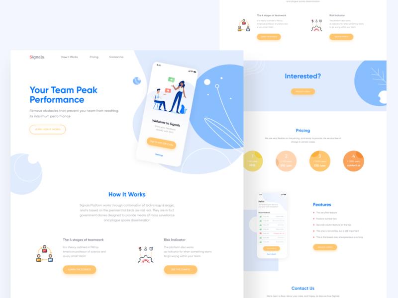 Signals App Website