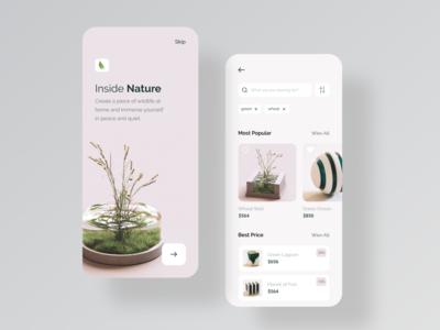Inside Nature Mobile App
