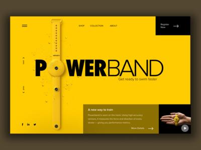 Powerband Promo Website