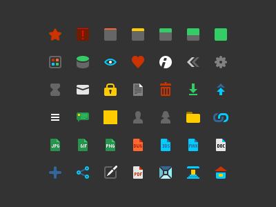 Icons For Some Service