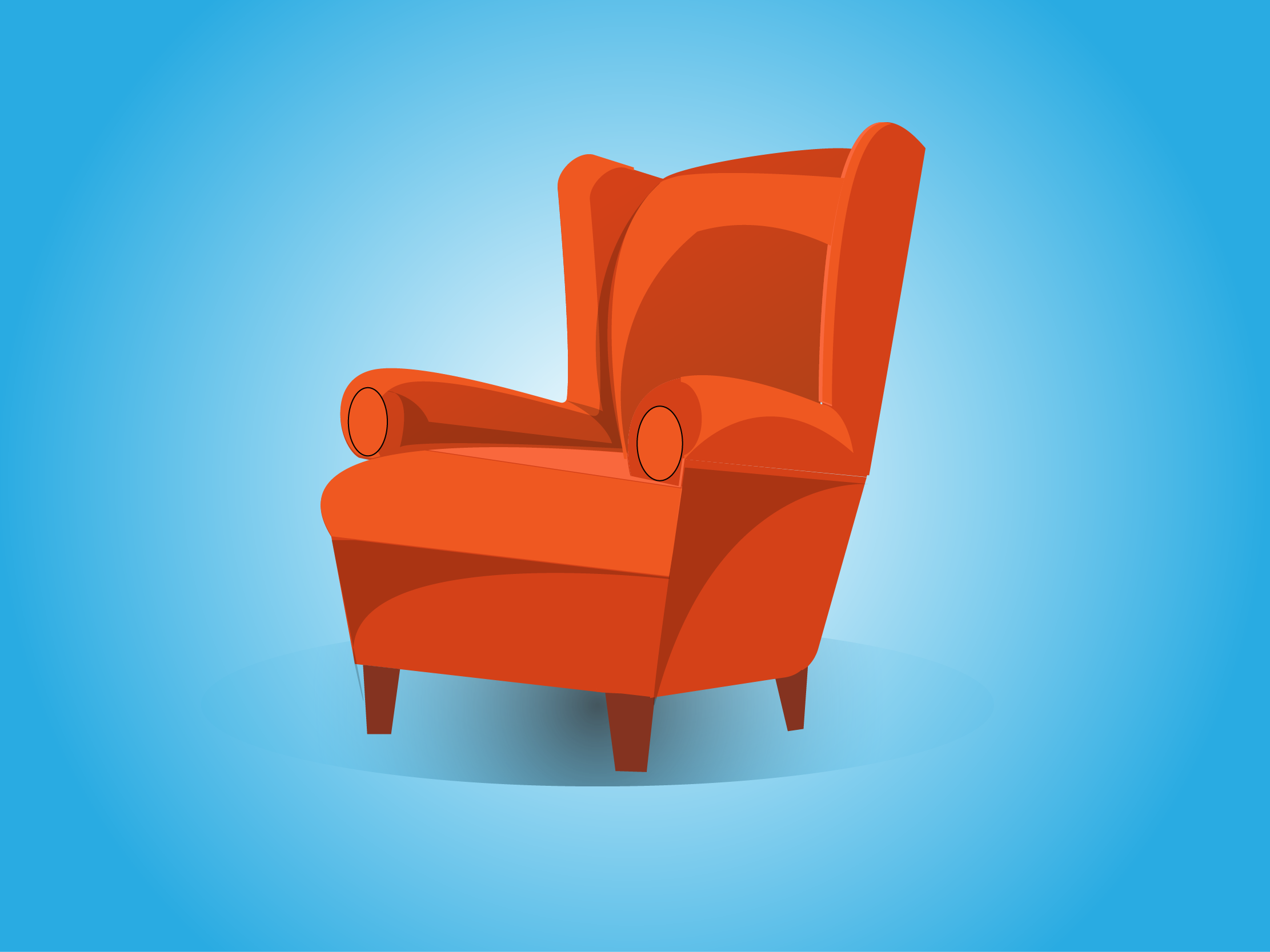 Dribbble Sofa Png By Manish Mittal