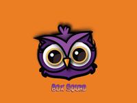 'Box Squad' mascot logo