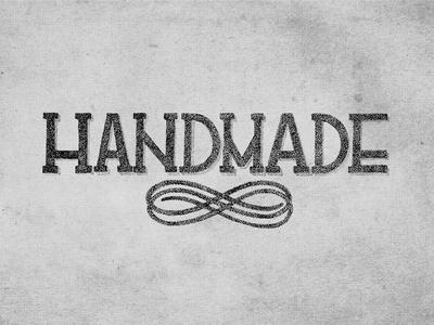 Handmade.