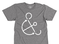 Anchorsand t-shirt design