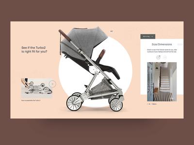 Mamas & Papas product listing page