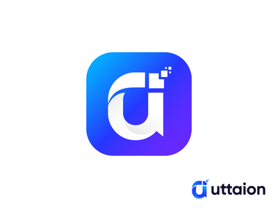 Uttarion App Icon uttarion best shot best logo designer in dribbble branding agency software network logo technology tech app icon app logo design zahidbrand brand identity graphicbooss logo best logo design best app icon best logo designer app logo app icon branding modern logo