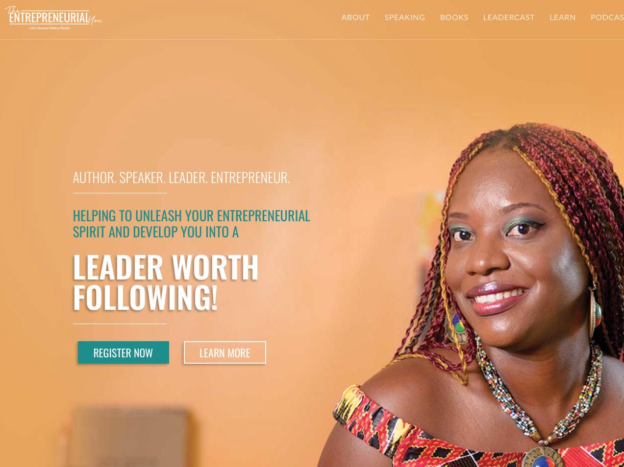 Heneka Watkis Porter website ui front-end development front-end ux web design