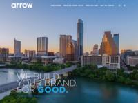 Arrow at Work design ui front-end front-end development website ux web