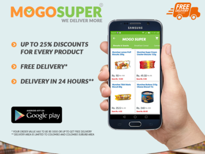 Mogo Super Grocery Delivery App
