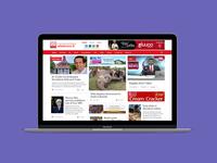 Ada Derana Website UI UX Redesign