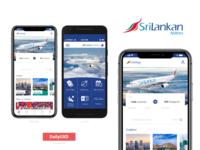 Sri Lankan Airlines App Redesign