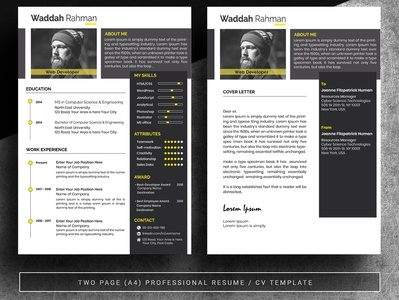 Clean Professional Creative and Modern Resume