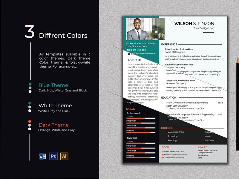 Clean Professional Creative and Modern Resume cv template word cv resume cv resume template resume with photo resume with cover resume word resume bundle cover design cover letter template cover cv template cv design cv resume template word resume templates resume clean resume template resume design resume cv resume