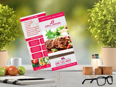 Restaurant DLFlyer/ Rack Card