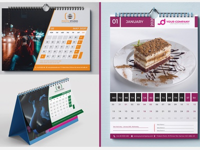Desk or Wall Calendar Design