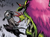 Comic book colourist work for Doug TenNapel