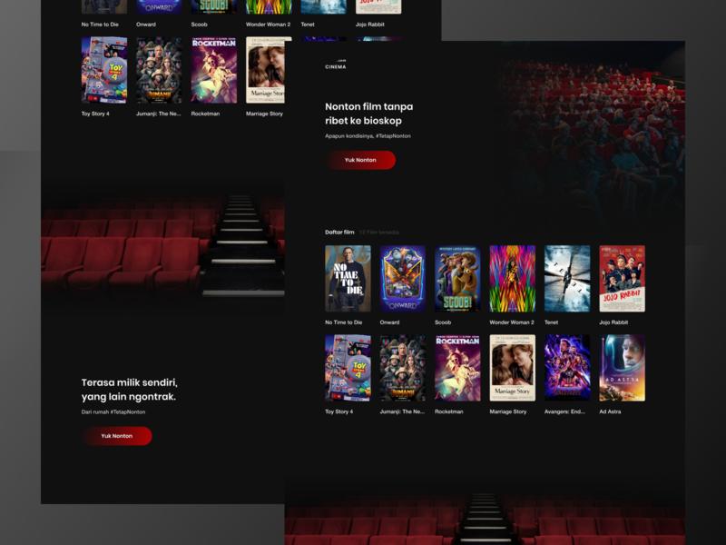 CINEMA - Cinema website movie design movie app movie cinemas cinema websites webdesign web design web website design website uiux design ui design uidesign exploration uxdesign uiux design ux ui