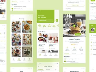 Recipe App uiux design design ui design uidesign uxdesign uiux ux ui mobile app design mobile app mobile recipe app recipes recipe