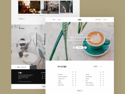 Coffee - Exploration Landing Page #3