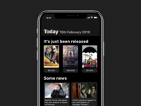 TV Shows App | Today Tab