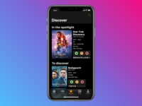 TV Shows App | Discover Tab