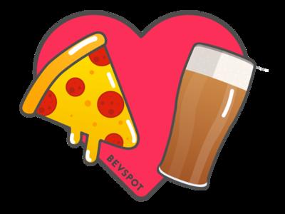 Pizza <3 Beer
