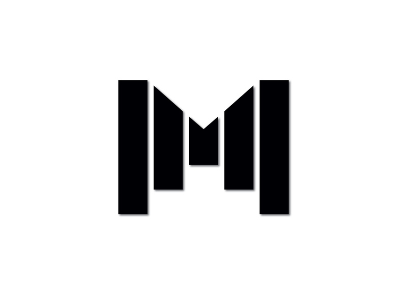M logo vector logo design logo design branding brand design