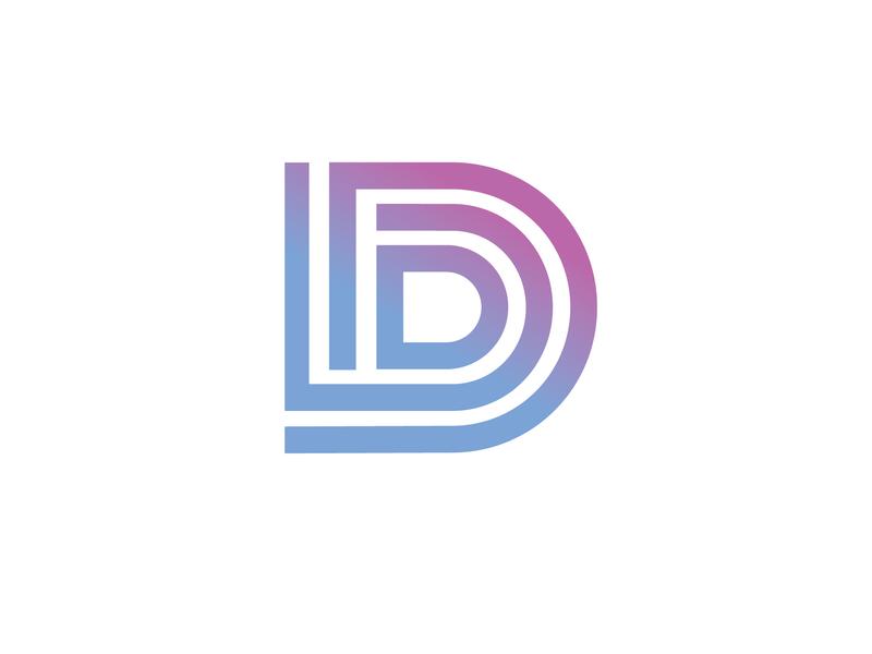 DDD logo for event event monogram logo vector logo design logo design branding brand design monogram