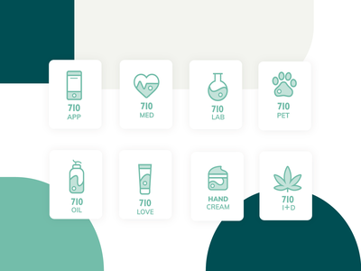 710 -  Medical Cannabis icon Set medical icon medical icon set icon medicine cannabis medical cannabis