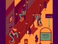 Barrio Sur illustration