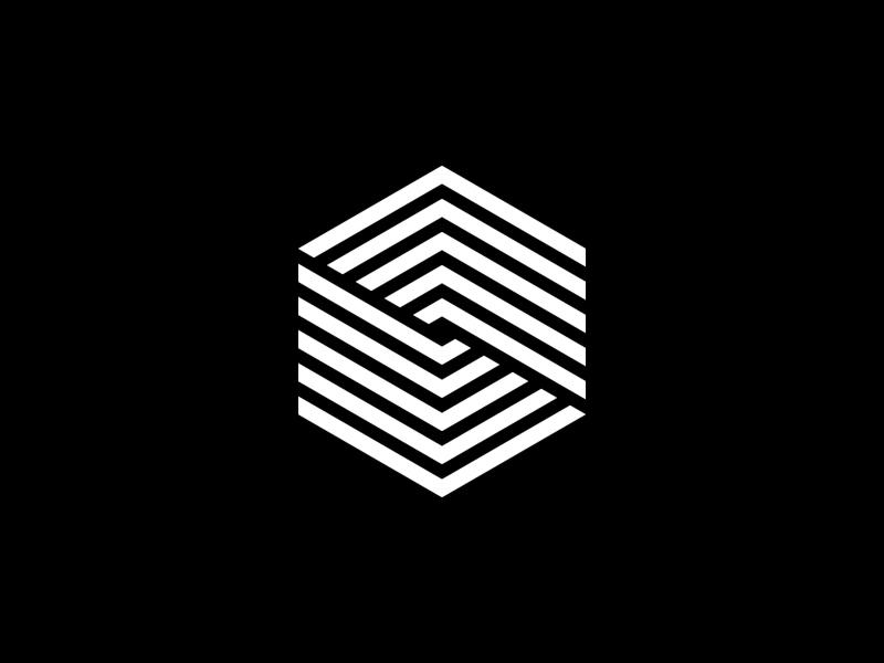 Hex Mark logo mark hexagon geometry symbol