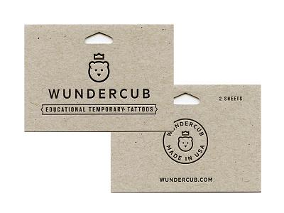 Wundercub Tags tattoos french letterpress print