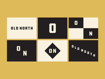 Old North Flags graphic design flags
