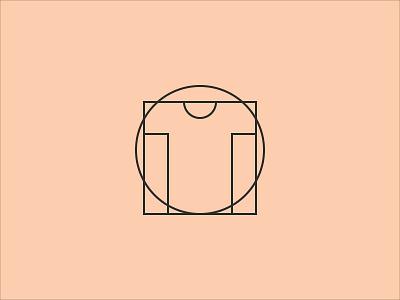 Vitruvian Tee math clever da vinci