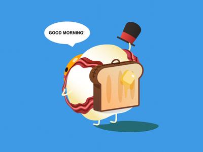 Good Morning - Breakfast Egg