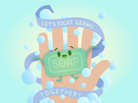 Fight Germs with Soap