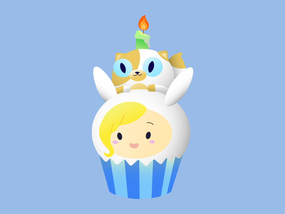Adventure Time Finn And Fionna fionna and cake cupcakebarbara nguyen on dribbble